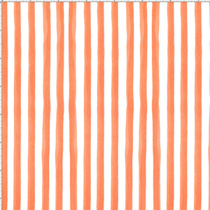 Gulf Stripe Orange Fabric