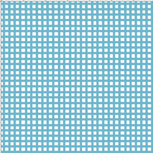 Loralie ApronEsque Fabric Chipper Check Turquoise 146 Loralie Harris Yard