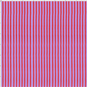 Party Stripe Purple / Red Fabric