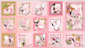 Flams Panel Pink Fabric Panel