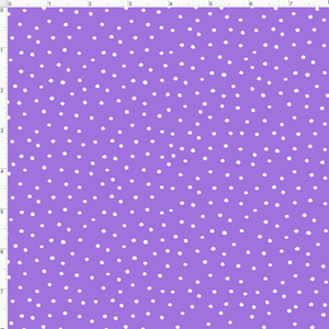 Dinky Dots Lilac / White Fabric