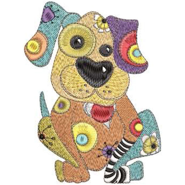 Joy Dog Embroidery Machine Design Collection | Download