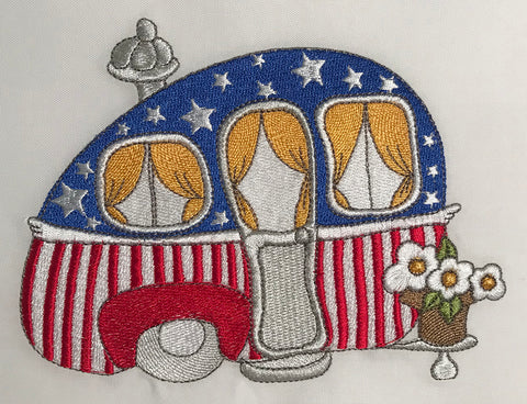 Treasure Trailer Embroidery Machine Design | Download