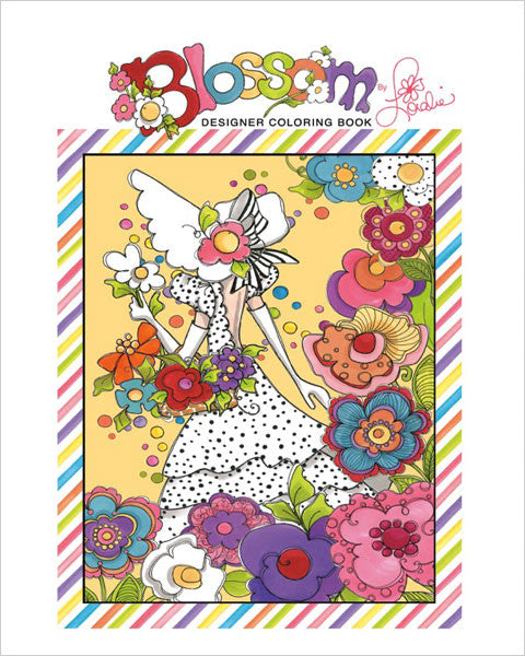 Blossom Coloring Book