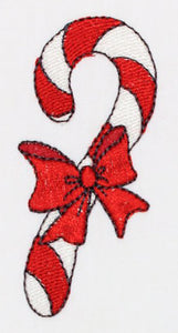 Bow Cane Embroidery Machine Design | Download