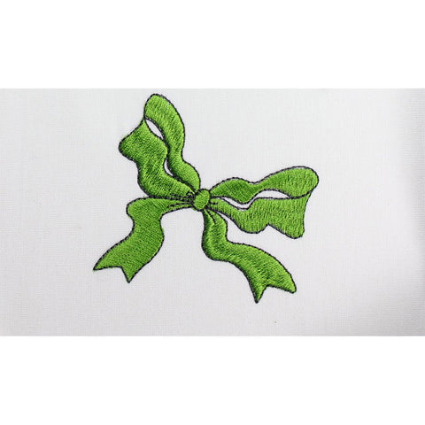 Dancing Bow Embroidery Machine Design | Download
