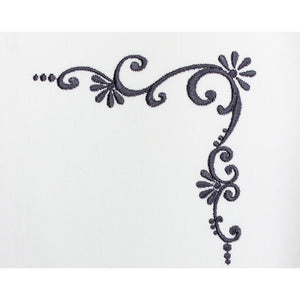 Elegant Scroll Embroidery Machine Design | Download