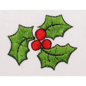 Holly Embroidery Machine Design | Download