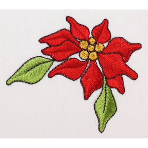 Poinsettia Embroidery Machine Design | Download