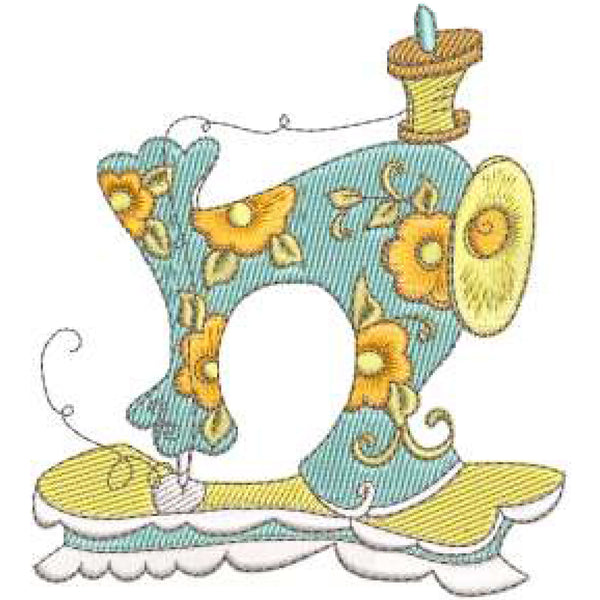 Sew Curious! 2 Embroidery Machine Design Collection