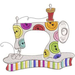 Sew Happy Embroidery Design
