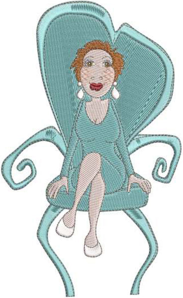 Sitting Pretty Embroidery Machine Design Collection | Download