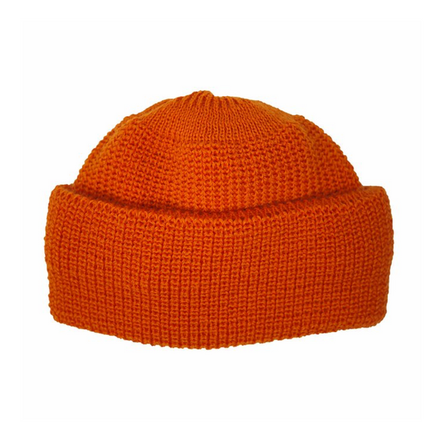 Mechanics Hat in Rescue Orange
