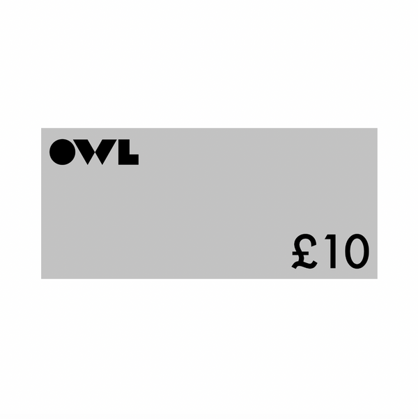 Owl Gift Card £10