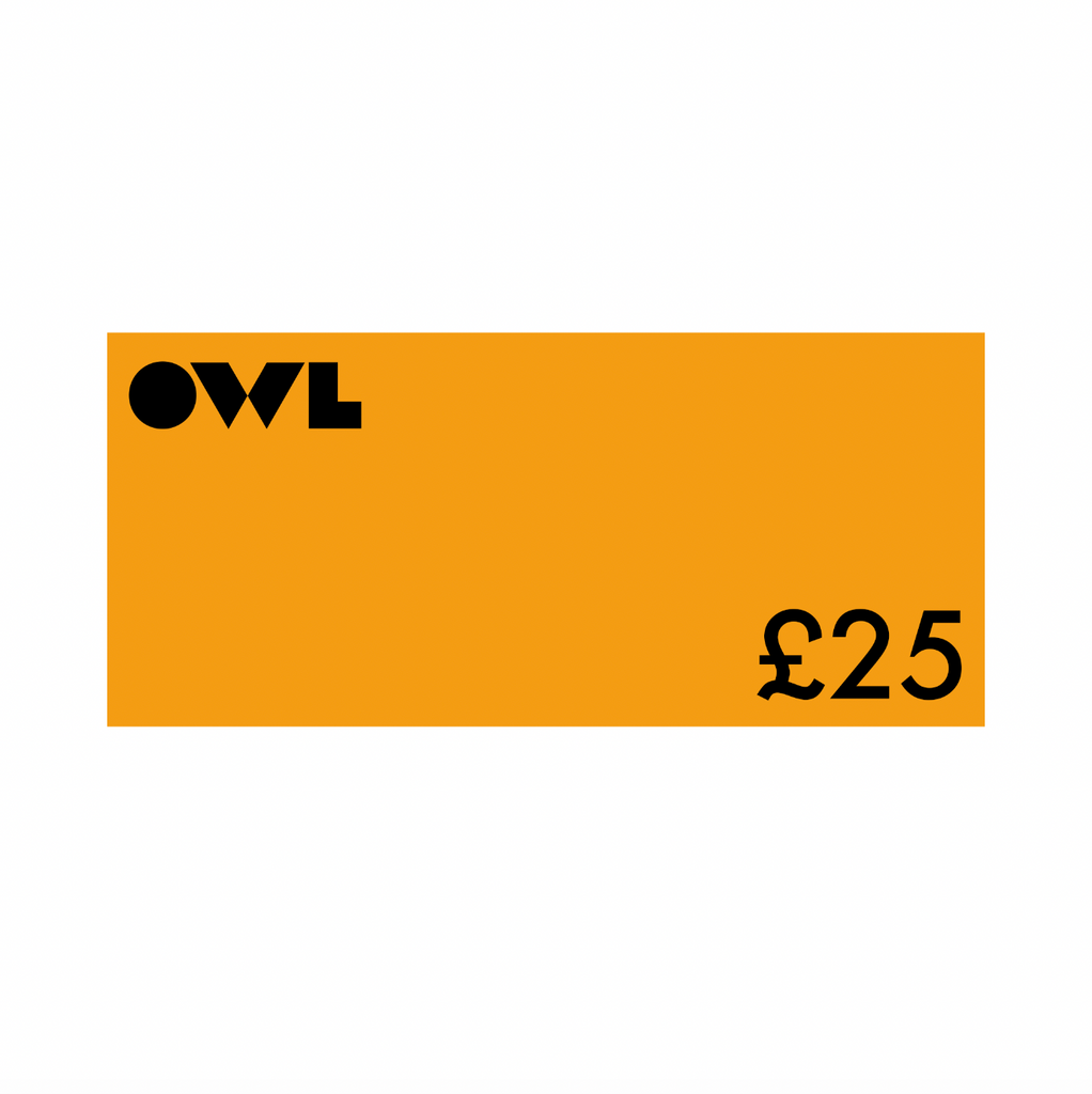 Owl Gift Card £25