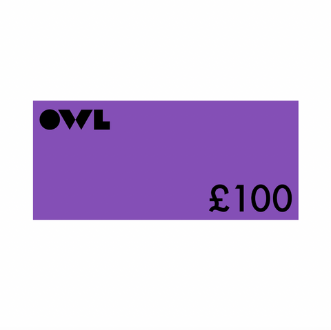 Owl Gift Card £100