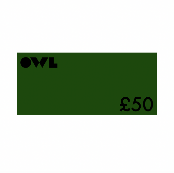 Owl Gift Card £50