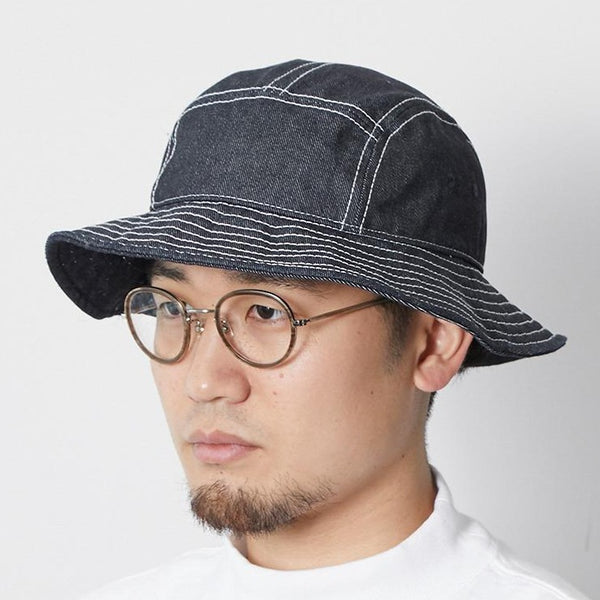 Takibi Denim Hat in Indigo