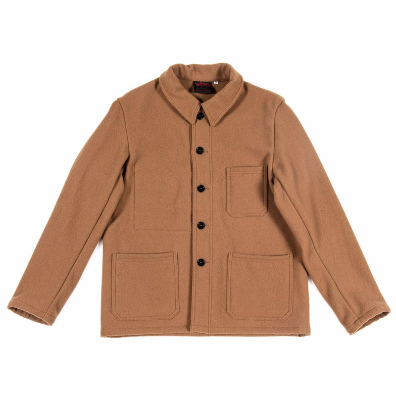 Melton Jacket in Camel