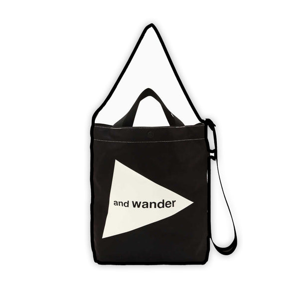 Cordura Logo Tote Bag in Black