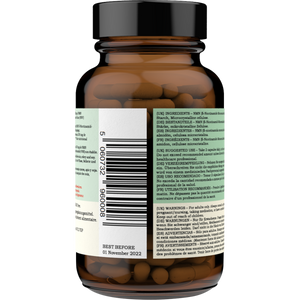 NMN (β-Nicotinamide Mononucleotide) Delayed Release Capsules 125mg - 60 Capsules - youthandearth