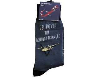 Socks: I survived the Bermuda Triangle