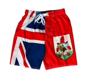 Boys' Bermuda flag trunks