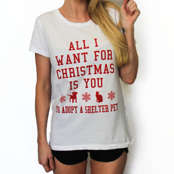 All I Want For Christmas Vintage Tee
