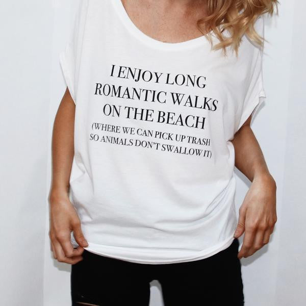 IMPERFECT Walks On The Beach Tops