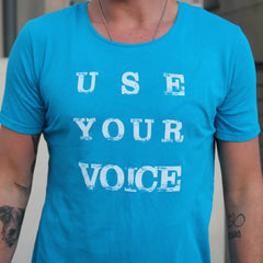 Use Your Voice Unisex Tee