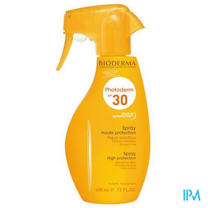 Bioderma Photoderm Spray Spf30 Gelaat En Lichaam 400ml