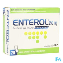 Afbeelding in Gallery-weergave laden, ENTEROL 250 MG CAPS HARDE DUR 20 X 250 MG