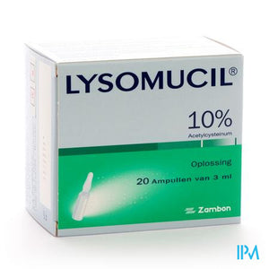 Lysomucil 10% Amp 20 X 300mg/3ml