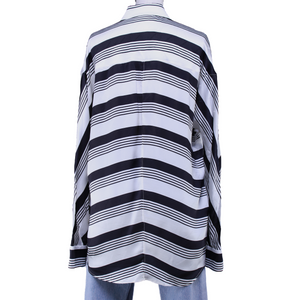 Balenciaga Striped Button-Up Shirt