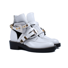 Load image into Gallery viewer, Balenciaga Cutout Buckle Boots