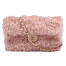 Load image into Gallery viewer, Chanel Fantasy Fur CC Clutch Flap Bag