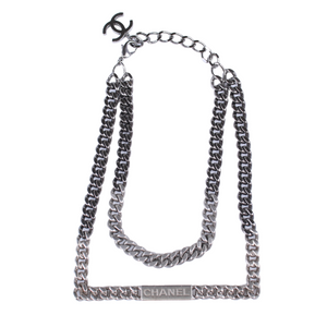 Chanel Double-Link Chain Necklace