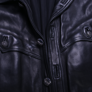 Vintage Chrome Hearts Leather Jacket