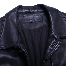 Load image into Gallery viewer, Vintage Chrome Hearts Leather Jacket