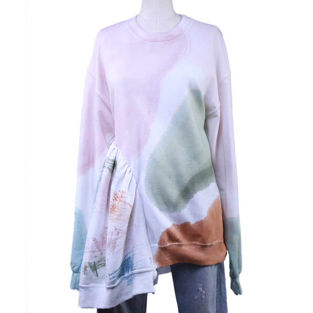 Collina Strada Asymmetrical Sweatshirt