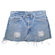 Load image into Gallery viewer, Vintage Levi's Orange Tab Mini Skirt