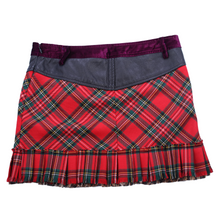 Load image into Gallery viewer, Vintage Dolce & Gabbana Plaid Mini Skirt