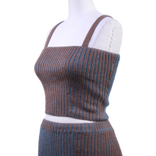 Load image into Gallery viewer, Eckhaus Latta Ribbed Crop Top