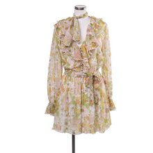 Load image into Gallery viewer, Zimmermann Floral Playsuit