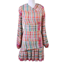 Load image into Gallery viewer, Gilner Farrar Pleated Mini Dress