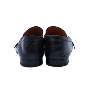 Gucci Leather GG Loafers