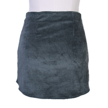 Load image into Gallery viewer, Danielle Guizio Corduroy Mini Skirt