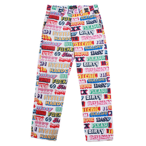 Hysteric Glamour x Supreme Text Work Pants