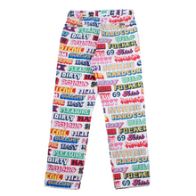 Load image into Gallery viewer, Hysteric Glamour x Supreme Text Work Pants