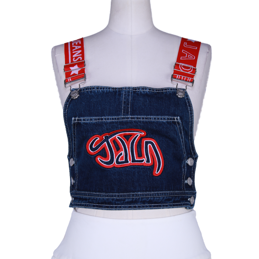 Jaded London Denim Top